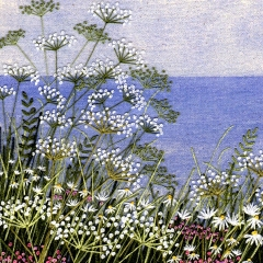 Cow Parsley by the Sea