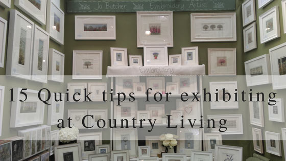 15 Quick Tips for Exhibiting at the Country Living Spring Fair